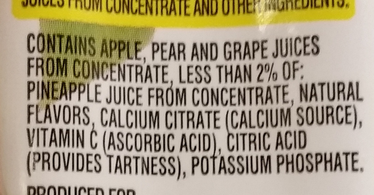 recipe: minute maid fruit punch ingredients [6]
