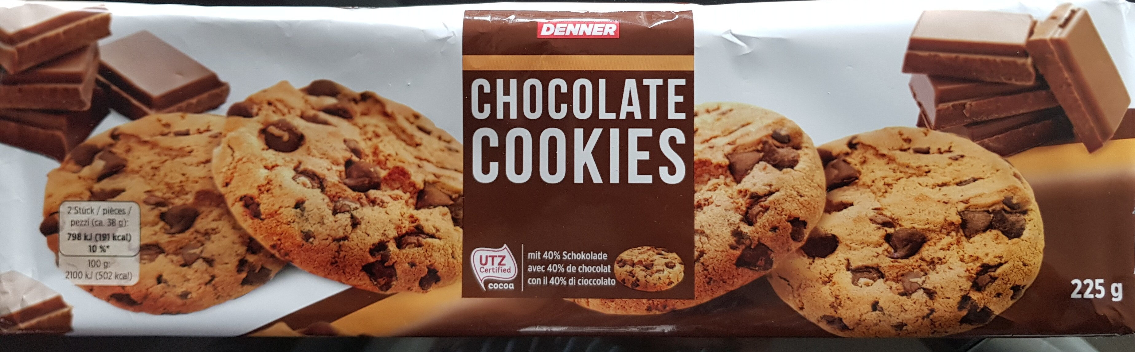 Chocolate Cookies - Product - fr