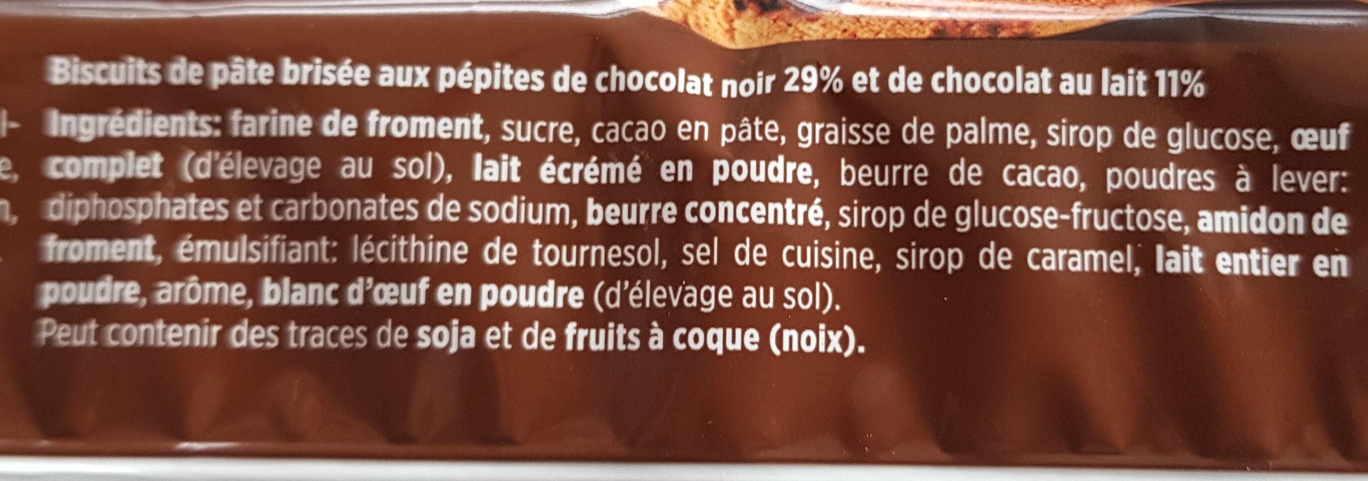 Chocolate Cookies - Ingredients - fr