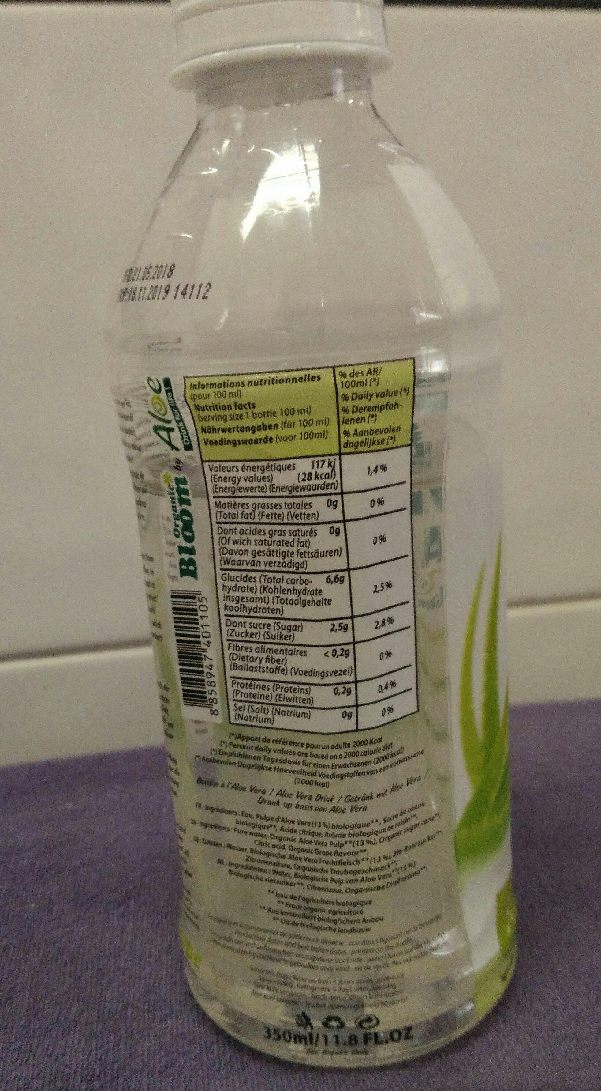 Aloe Vera - Ingredientes - fr