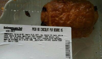 Pain au chocolat pur beurre - Product - fr