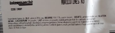 Abricotines - Ingrediënten