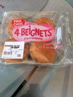 4 beignets a la framboise - Produit - fr