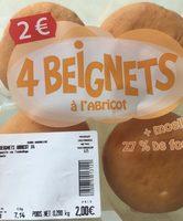 Beignets à l'abricot - Product