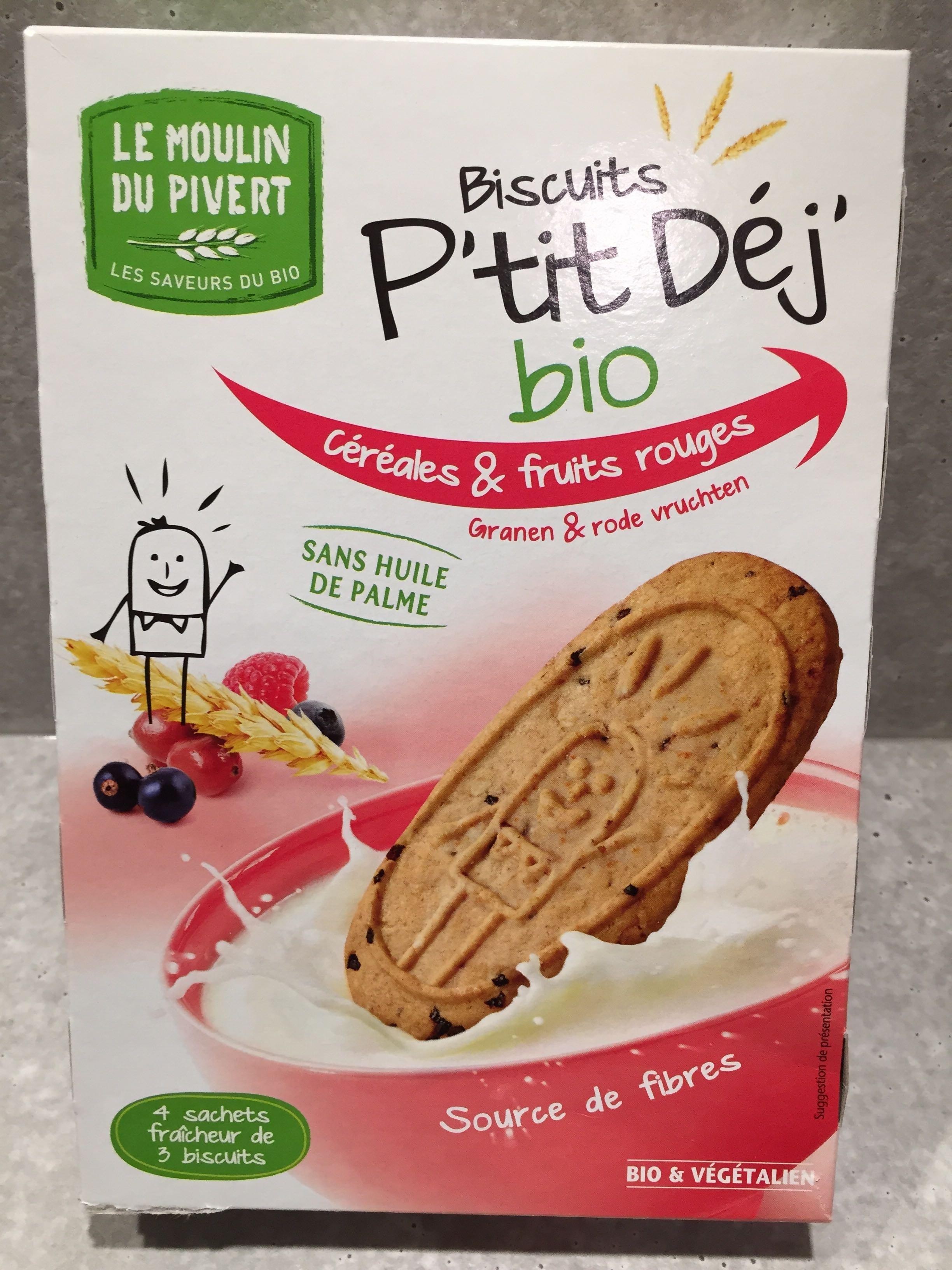 Biscuits p'tit dej bio - Produit - fr