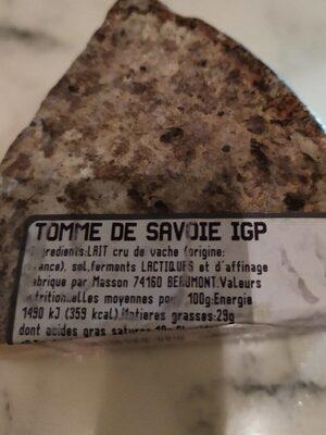 tomme de savoie - Product