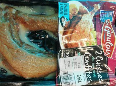 2 cuisses de canard confites - Produit - fr