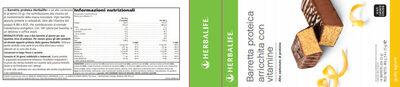 barrett proteica cioccolato agrumi scatola da 14 bar - Product - it