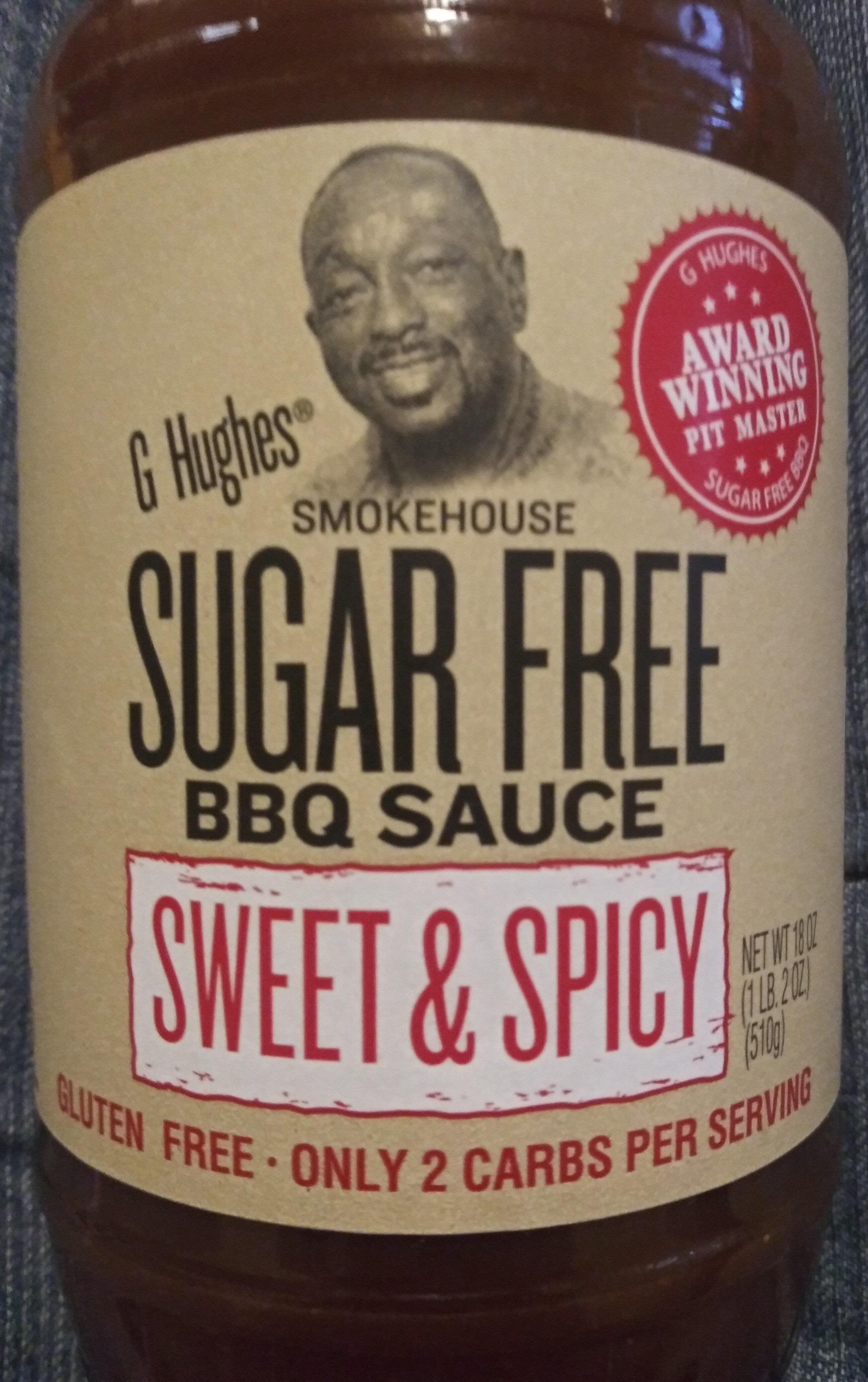 Sugar Free BBQ sauce Sweet & Spicy - Product - en