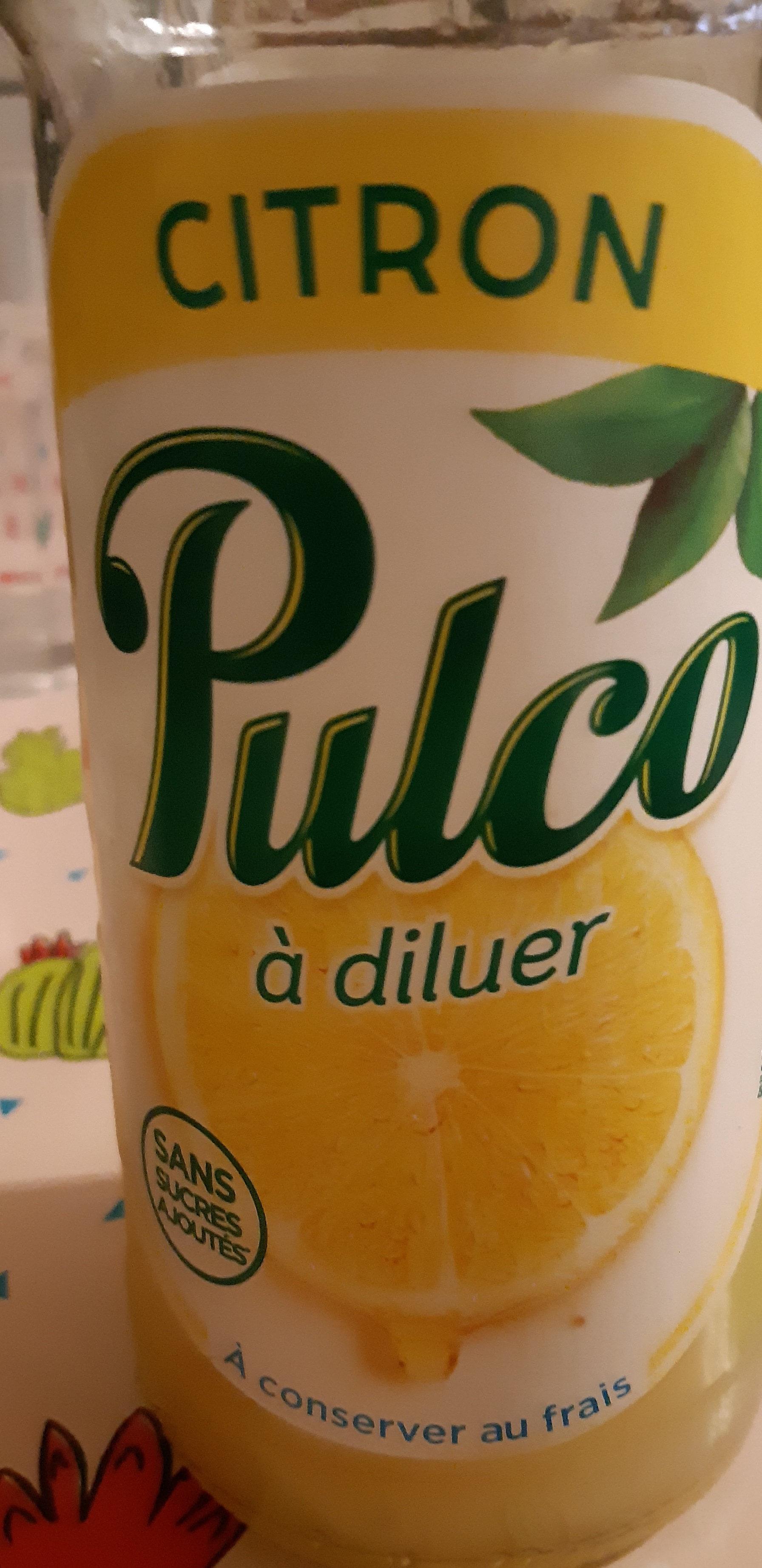 pulco citron - Produit