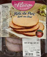 Roti de porc dore au four - Produit - fr