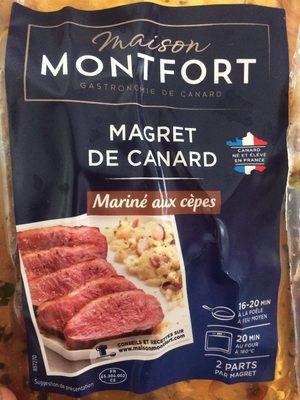 Magret de canard mariné aux cepes - Product - fr