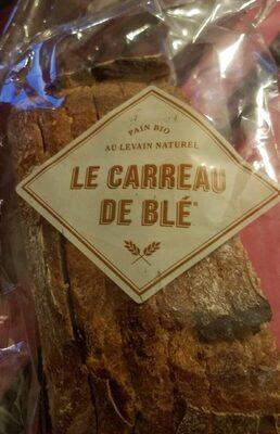 pain bio au levain naturel le carreau de blé - Prodotto - fr
