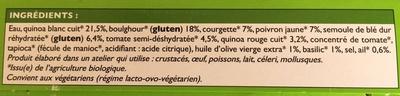 2 Galettes de Céréales à la Provencale - Ingrédients