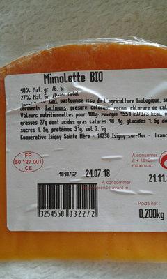 mimolette bio - Produit - fr