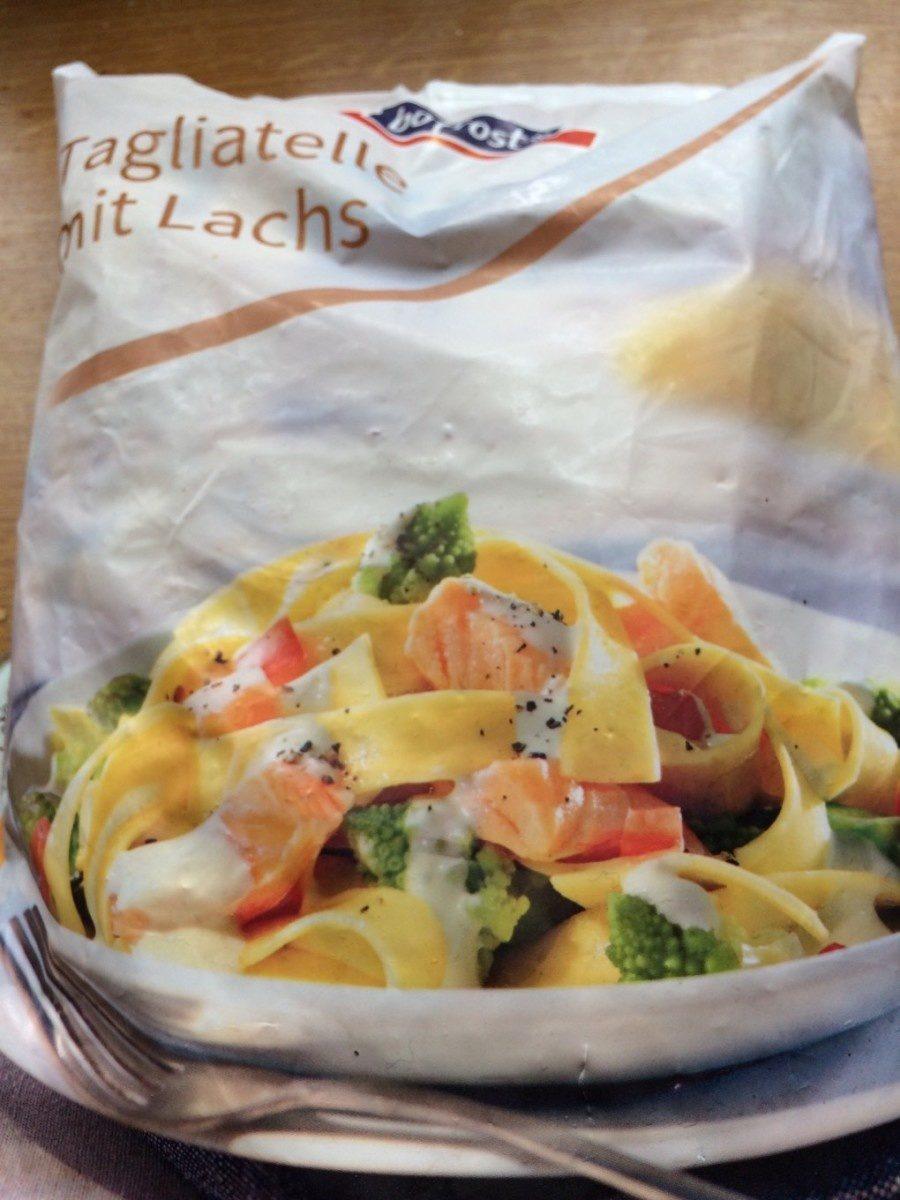 Tagliatelles au saumon - Produit