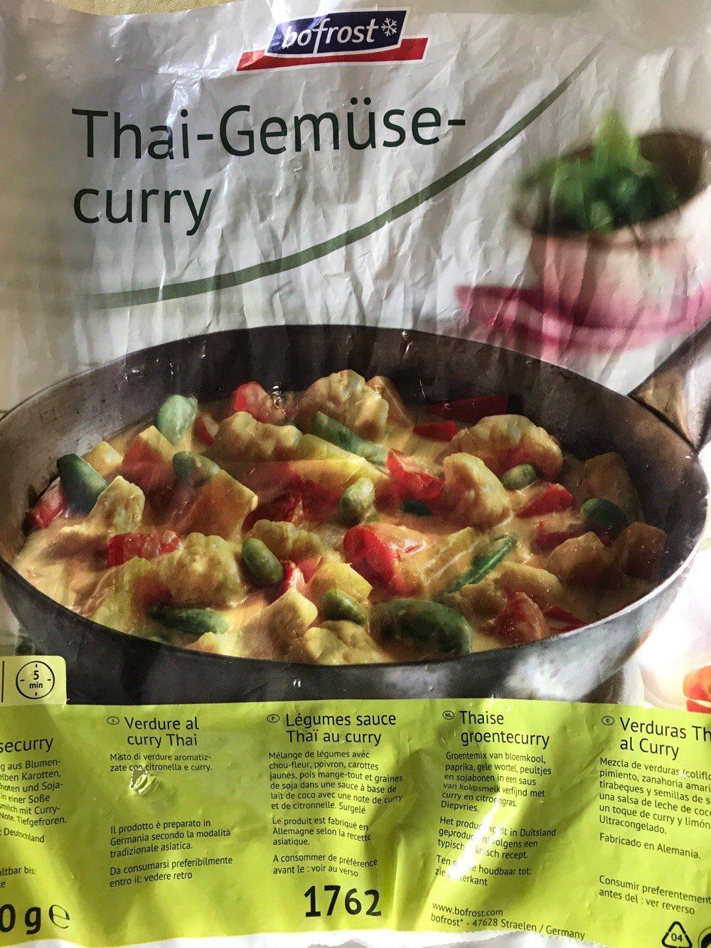 Thai Gemuse Curry Bofrost 1000 G