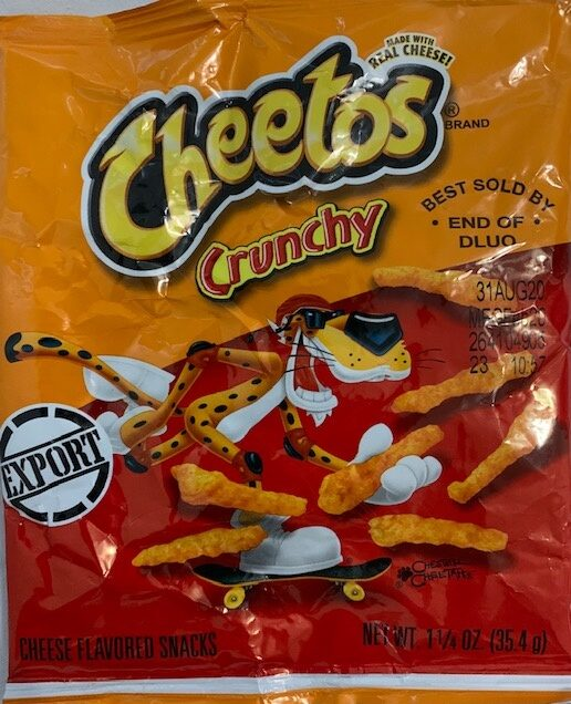 Cheetos Crunchy - Product - en