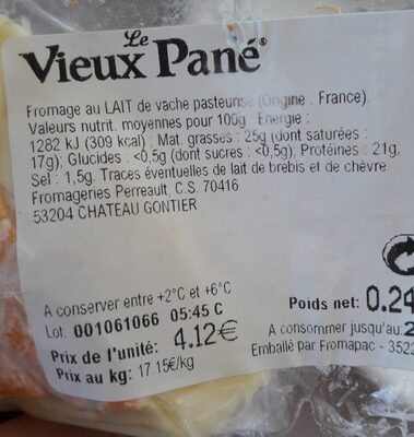 Vieux pané - Produit - fr