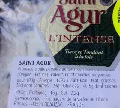 Fromage a pâte persillée - Ingrédients - fr
