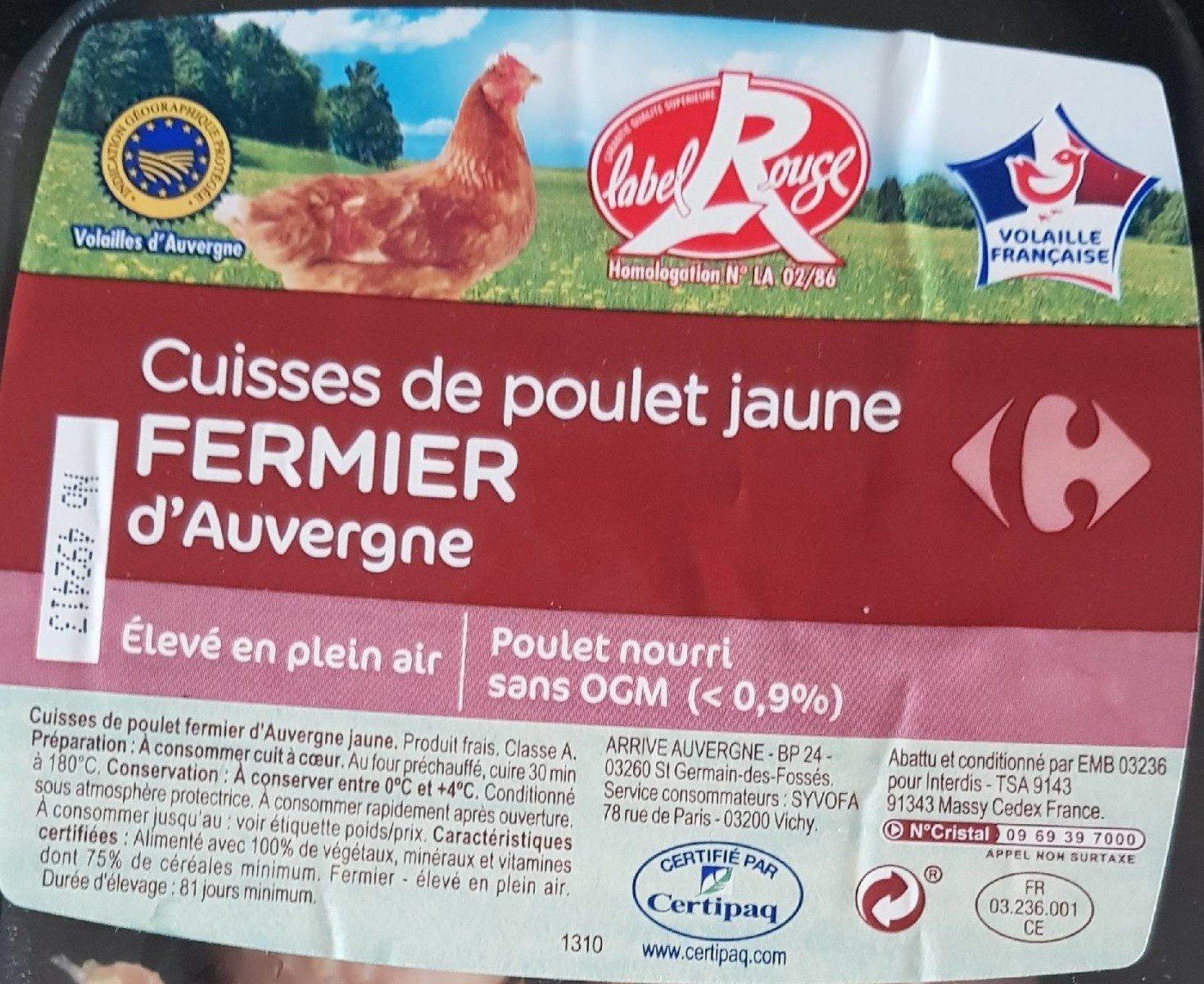 Cuisse de poulet fermier d'Auvergne - Product