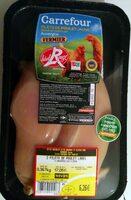 Filets de poulet fermier jaune - Produit - fr