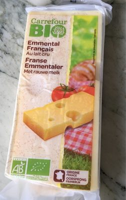 Emmental francais au lait cru - Produit