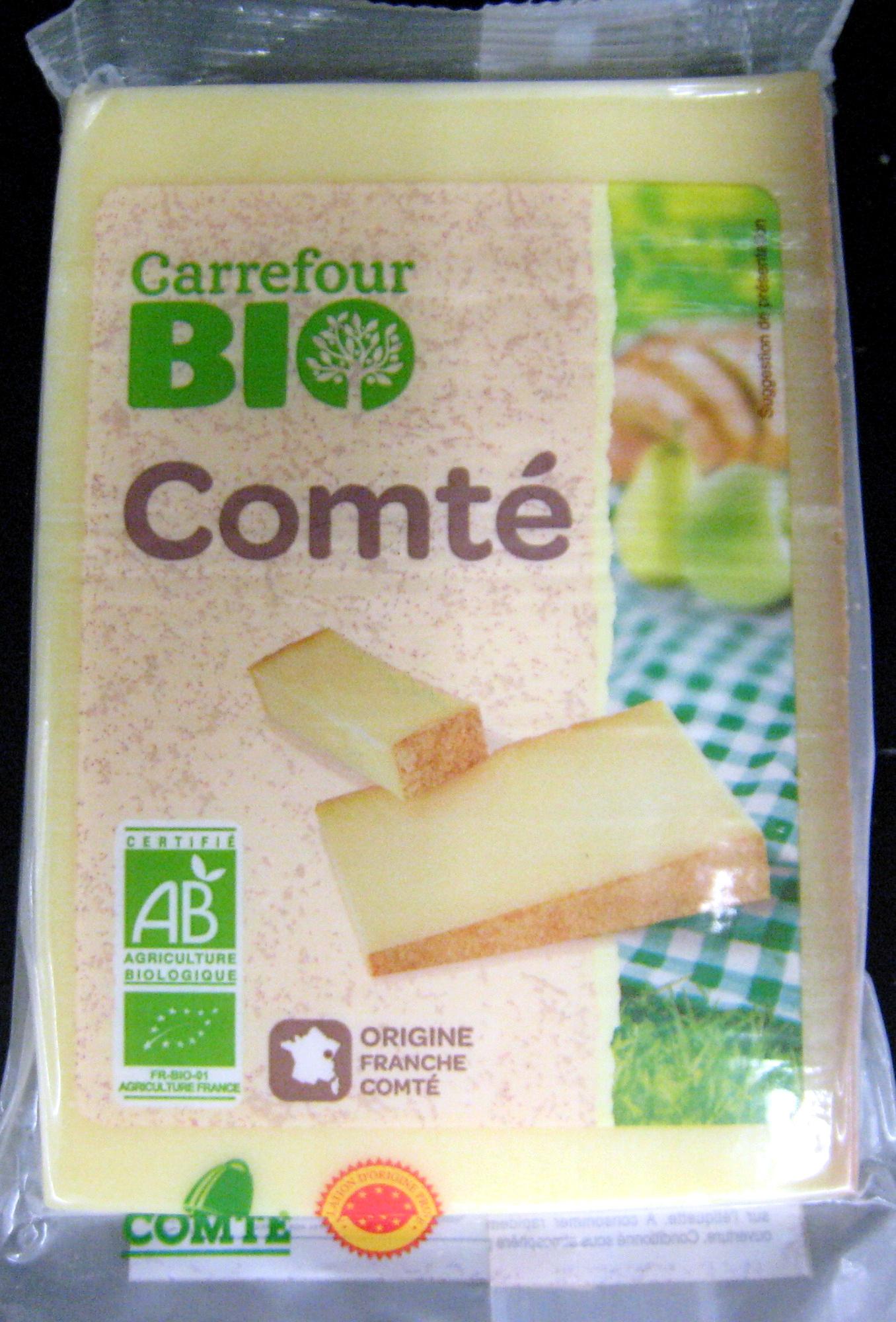 Comté AOP Bio (34 % MG) - Produit - fr