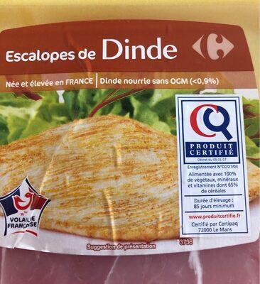 Escalope de dinde - Ingredienti - fr