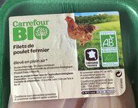 Filets de poulet fermier - Product