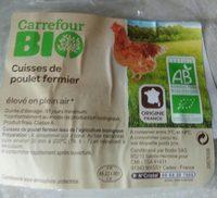 Cuisse de poulet bio - Product - fr