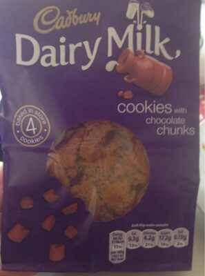 Cookies with chocolate chunks - Product - en