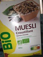 Muesli croustillant quinoa chocolat - Product
