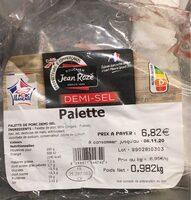 Palette demi sel - Product - fr