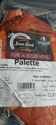 Palette - Product - fr
