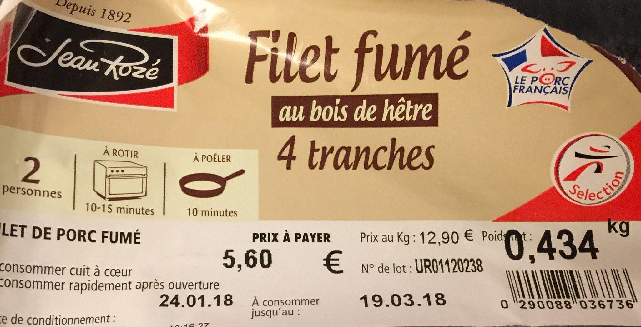 Filet fumé - Product - fr