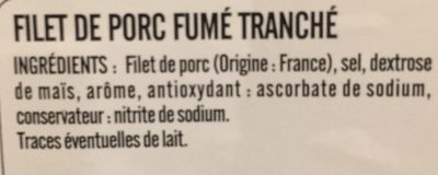 Filet fumé - Ingredients - fr