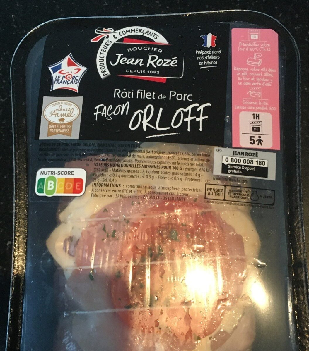 Rôti filet de porc façon Orloff - Prodotto - fr