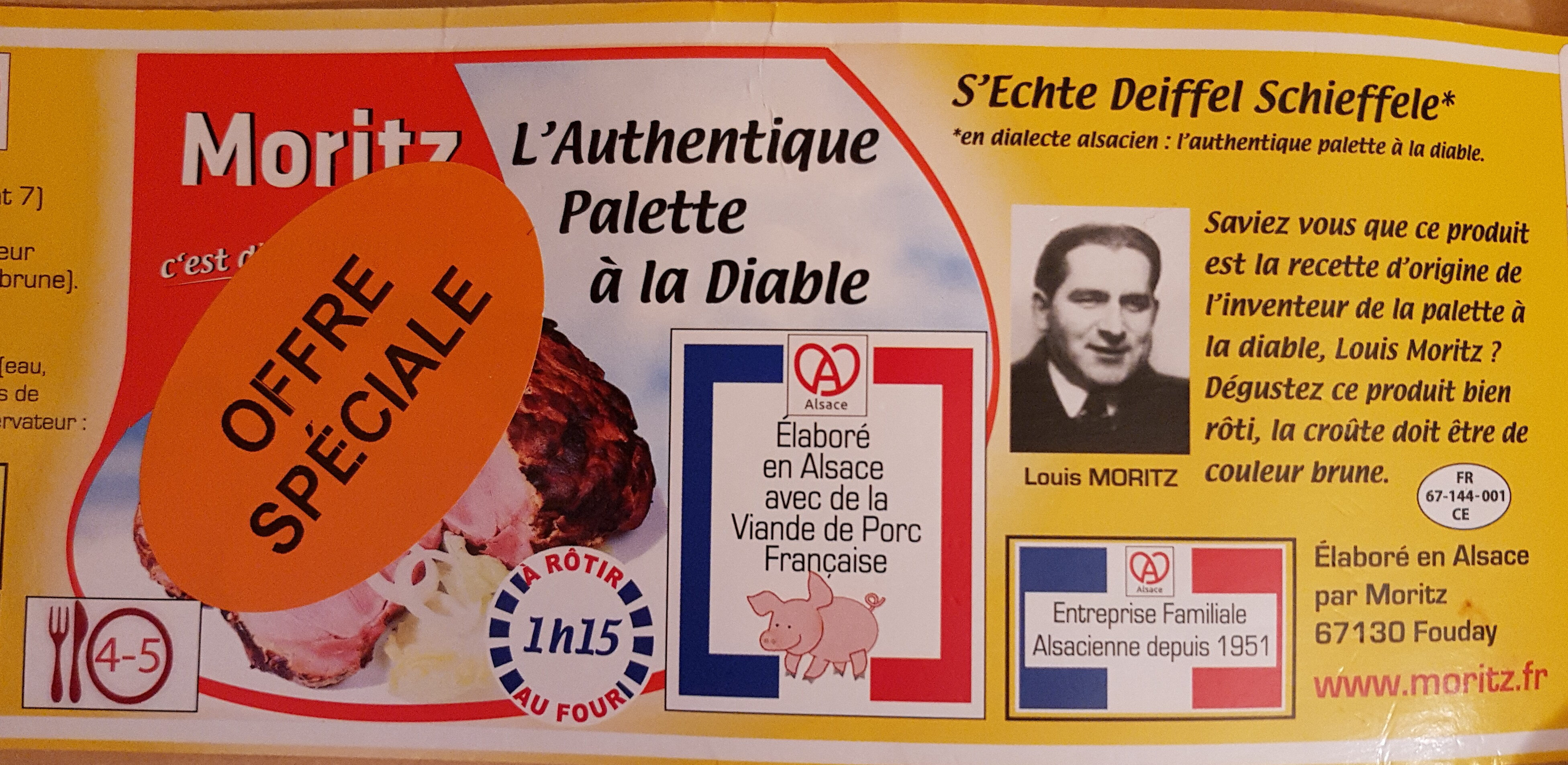 L'authentique Palette à la Diable - Produit - fr