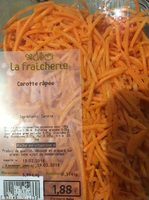 Carotte rapée - Ingrediënten