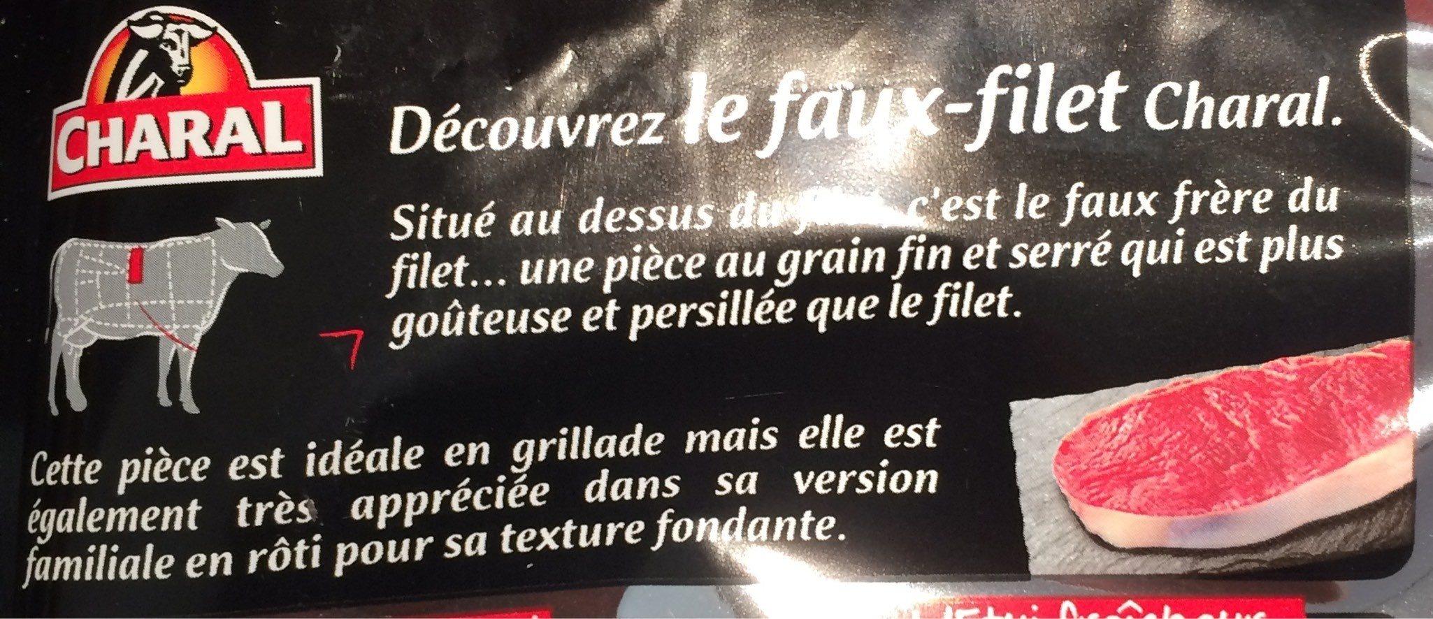 Faux-filet boeuf - Produit