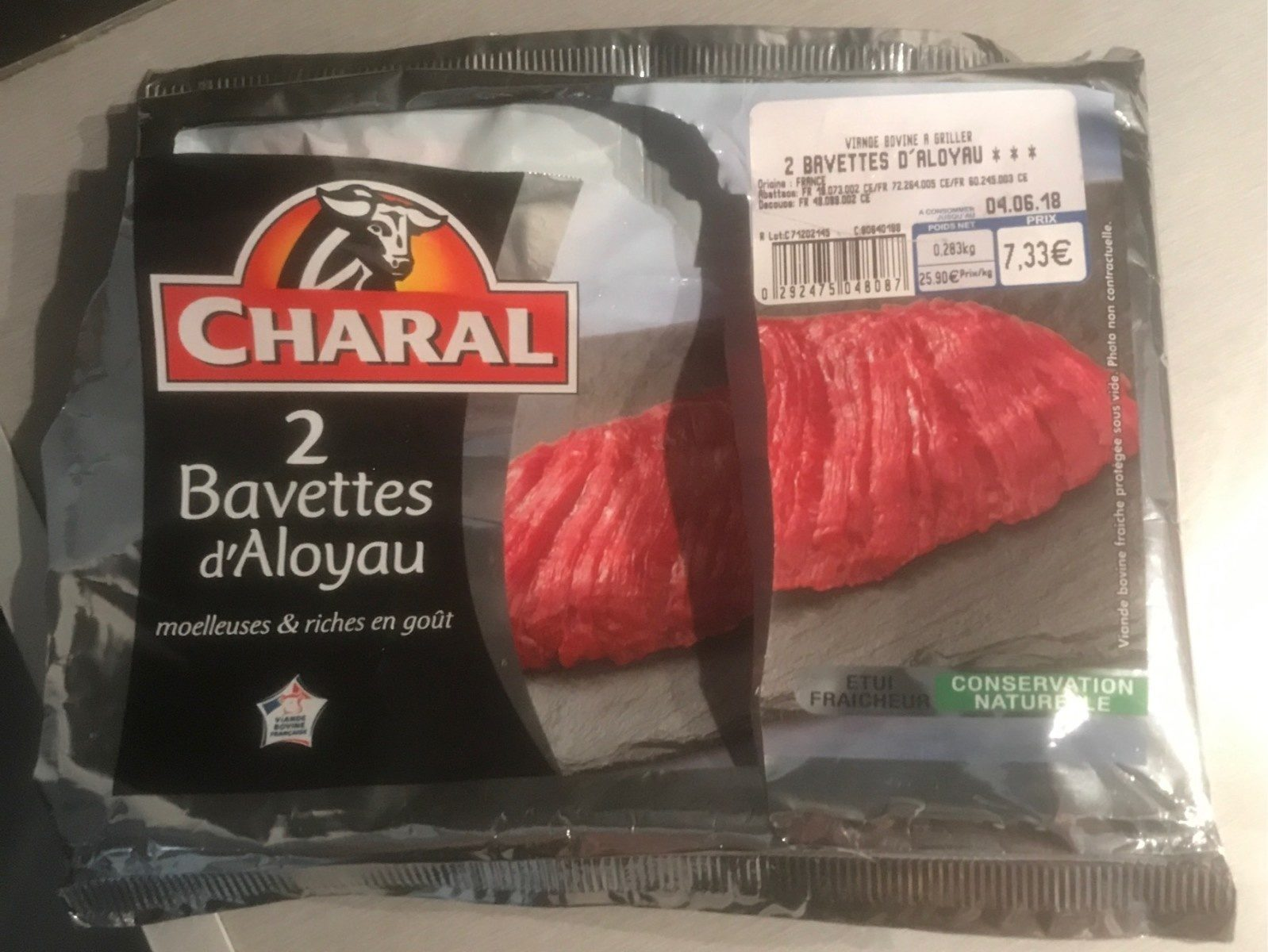 Bavette aloyau - Product