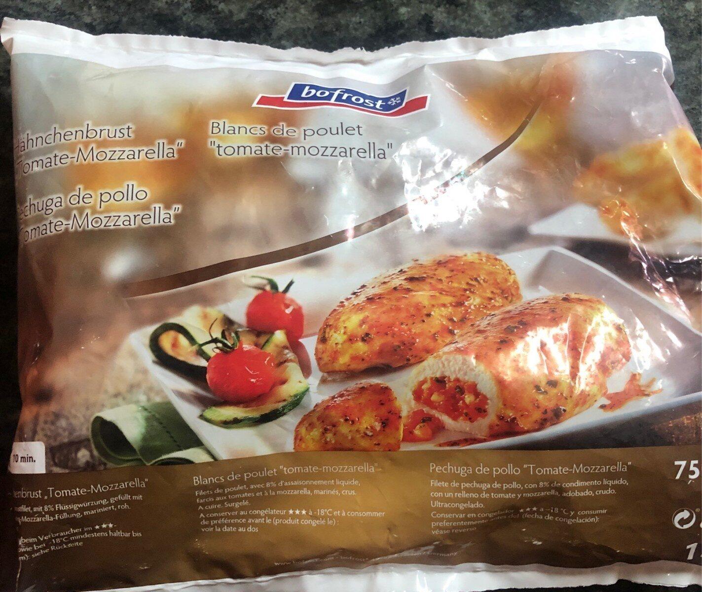 Pechugas de pollo tomate mozarella - Product