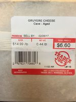 Gruiere - Product
