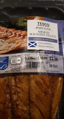 Smoked mackerel fillets - Product