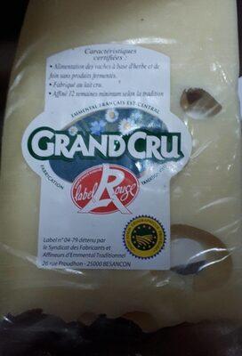 Gruyère Grand cru - Product - fr