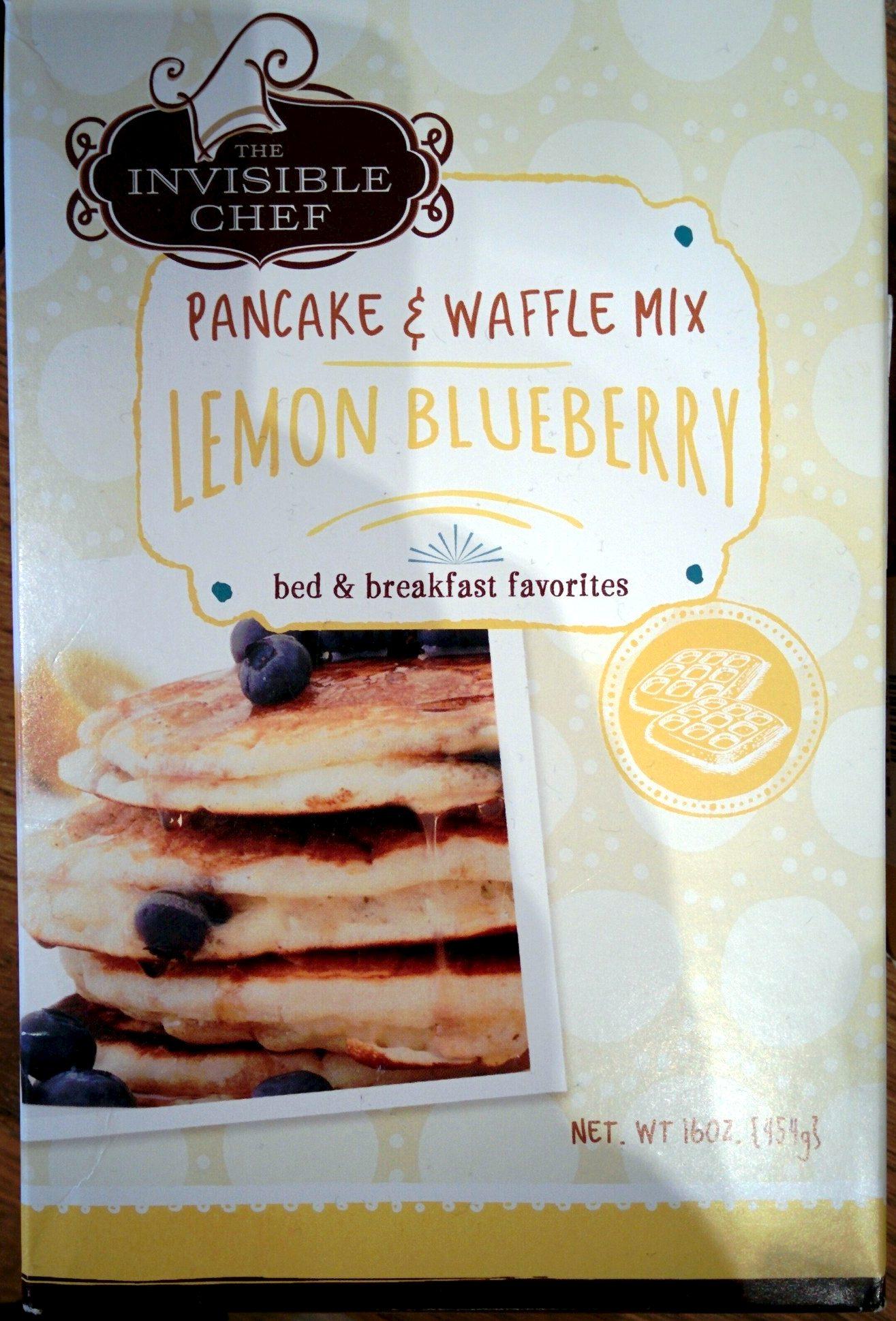 Pancake & Waffle Mix Lemon Blueberry - Product - de