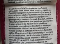 Gu Gel Energy Trois Fruits Rouges - Ingrédients - fr