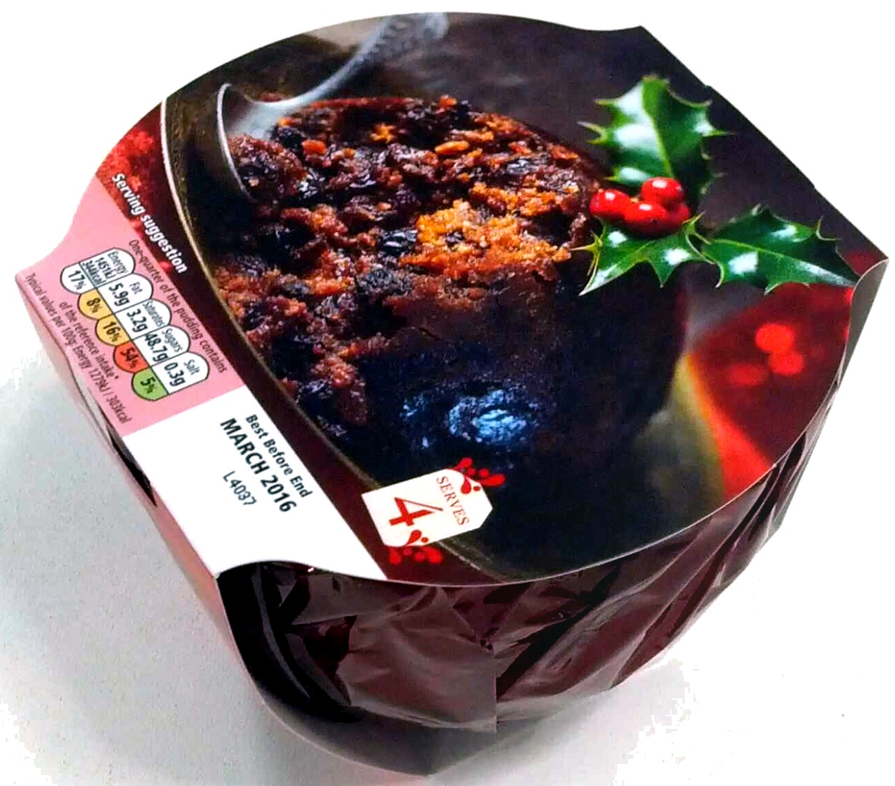 6 month matured Christmas Pudding with Cider and Brandy - Product - en