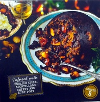 Christmas Pudding infused with English Cider, Amontillado, Sherry and Ruby Port - Product